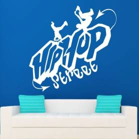 Sticker Hip hop street -...