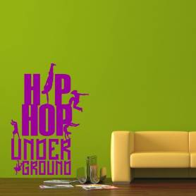 Sticker Hip hop underground...