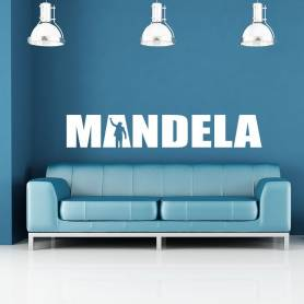 Sticker Design Mandela -...
