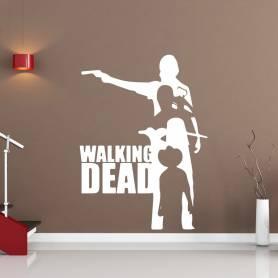 Sticker Thème Walking dead - 57*77 CM - BLANC - STICKER2228-1