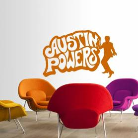 Sticker Austin powers -...