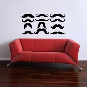 Sticker Séries de moustache...