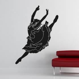 Sticker Danseuse souple -...