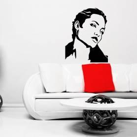 Sticker Angelina Jolie -...