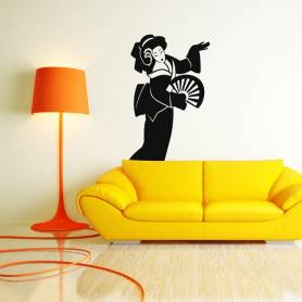 Sticker Figure Geisha -...