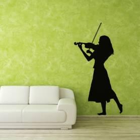 Sticker Violoniste - 57*108...