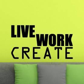 Sticker Bureau - Live Work...