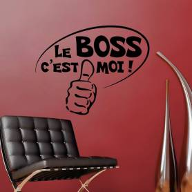 Sticker Bureau - Le Boss C...