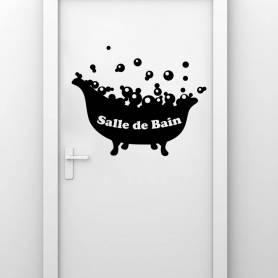 Sticker Salle de bain...