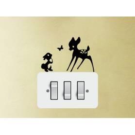 Bambi Sticker  -sticker043 - 9*15cm