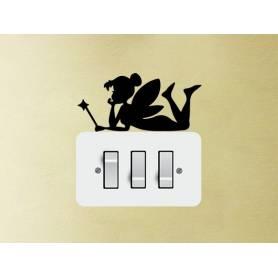 Fée Autocollant-2 pcs -sticker036  - 15*17 cm