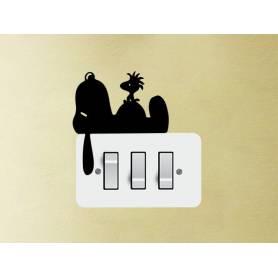 Snoopy Mur Decor Sticker  -sticker025  -9*10 cm