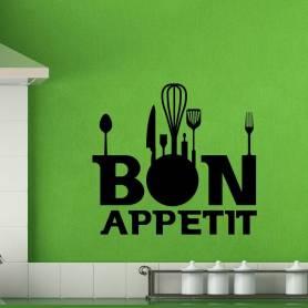 Autocollants Bon Appetit -sticker198 - 57*70 cm