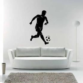 Sticker Joueur Football  -sticker221 -55*90 cm
