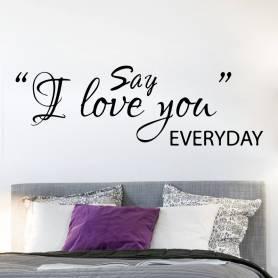 Autocollant Say I Love You...