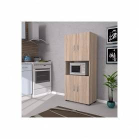 Multipurpose Cabinet - Bois Stratifié - 180*70*40 cm -  Chêne