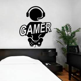 Sticker Gamer -sticker287...