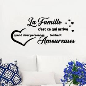 Sticker La Famille...