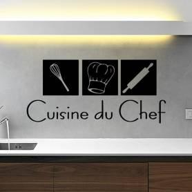 Sticker déco cuisine du...