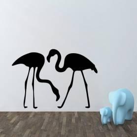 Sticker mural flamant  -sticker439 -57*81 cm