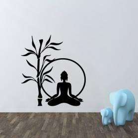 Sticker mural Yoga -sticker434 -57*62 cm