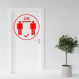Sticker 2 métre - 57*57 cm...