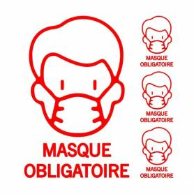 Pack Sticker masque...