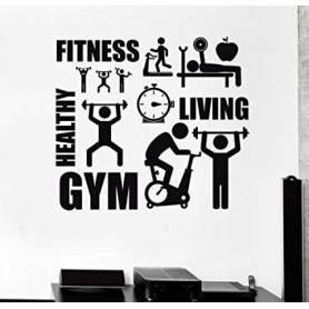 Sticker Mural Sport-...