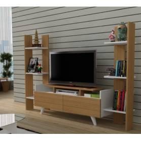 Meuble TV  Mianze - Bois MDF Stratifiée   - 190*115*30 cm