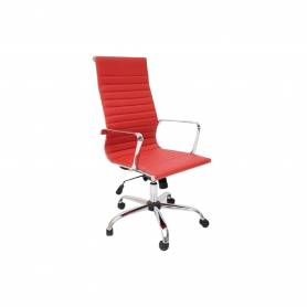 Chaise de bureau - MONACO  - Rouge