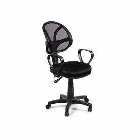 Chaise De Bureau -  PICCOLO  - Noir