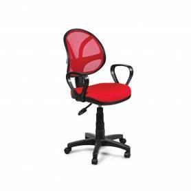 Chaise De Bureau -  PICCOLO GM  - Rouge