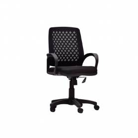 Chaise De Bureau -  TIZANO  - Noir