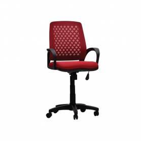 Chaise De Bureau -  TIZANO  - Rouge