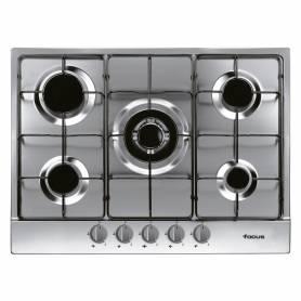 Plaque de cuisson 5 feux - F.407X - 70 Cm Inox