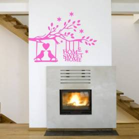 Sticker Home Sweet Home -...