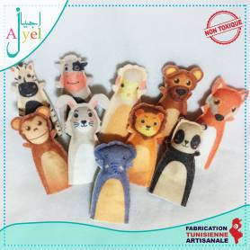Marionettes a doigts Animaux
