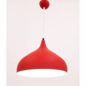 Suspension cuisine - Aluminium - E27 - Rouge