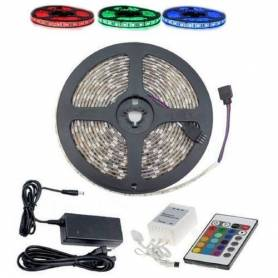 Pack Ruban Led Rgb - 12 V -...