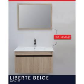 Liberte  - Bois Stratifié - Beige - 2P