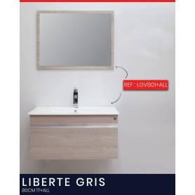 Liberte Gris - Bois stratifié - 80 1T +ALL