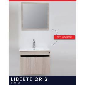 Liberte Gris - 60 cm 2P