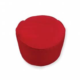 Pouf Rond - 45*30 - Rouge