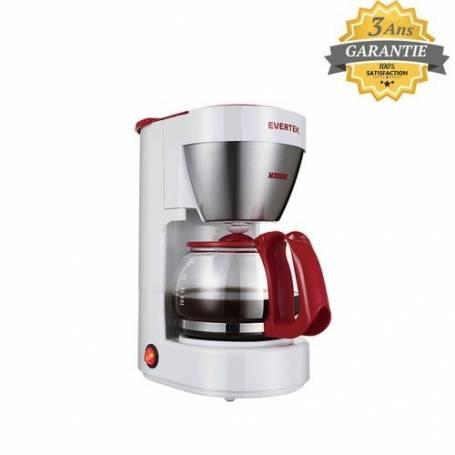 Cafetière - Modena - 600W - 6 Tasses - Blanc - Garantie 3 ans