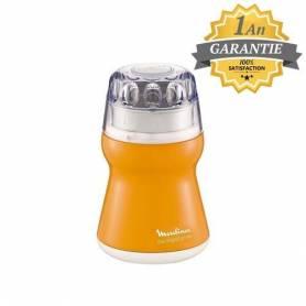 Moulinex - Moulin à Café - 180W - 50Gr - AR110010 - Orangé - Garantie 1 An