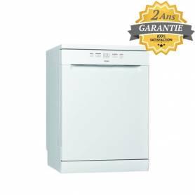 Whirlpool - Lave Vaisselle  - 13 Couverts - Blanc - WFE2B19 - Garantie 2 Ans