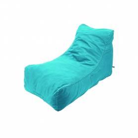 Pouf Dolphin - 140*60*60 - Bleu turquoise