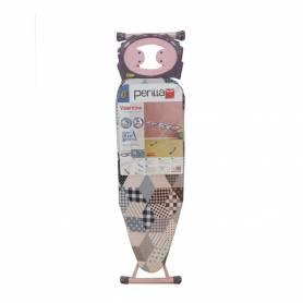 Perilla - Planche A Repasser - 120Cm x 40Cm - Valentina - Rose - Made In Turkey