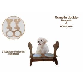 Porte de Gamelles pour chiens