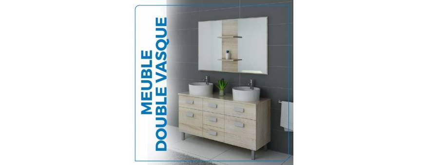 Achat / vente Meuble double vasque- Meubles salle de bain | baity.tn